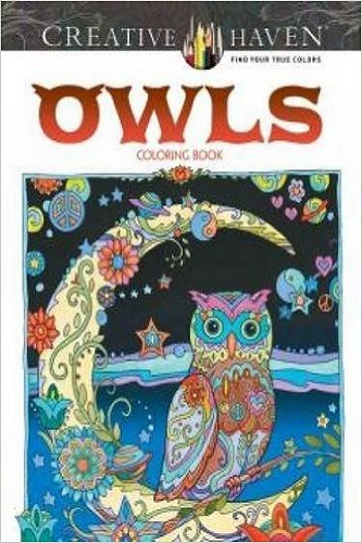 Creative Haven Owls Coloring Book (Adult Coloring) Review