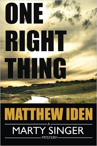 One Right Thing (A Marty Singer Mystery) Review